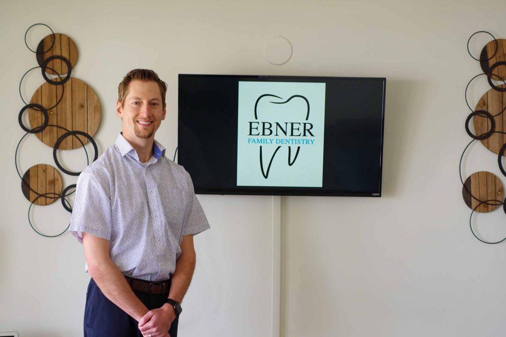 Dr. Dustin Ebner at Ebner Family Dentistry