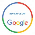 leave a review on google badge